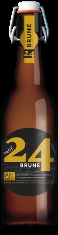 bière brun 75cl