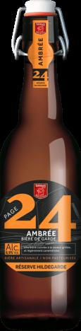 Amber Beer Hildegarde Page 24 75cl