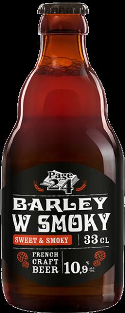 barley wine smoky en 33cl
