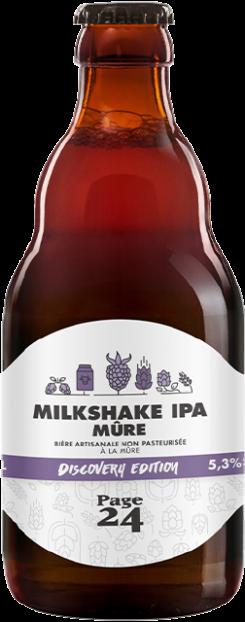 blackberry milkshake ipa discovery edition 33 cl