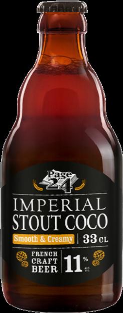 Impérial Stout Coco en 33 cl