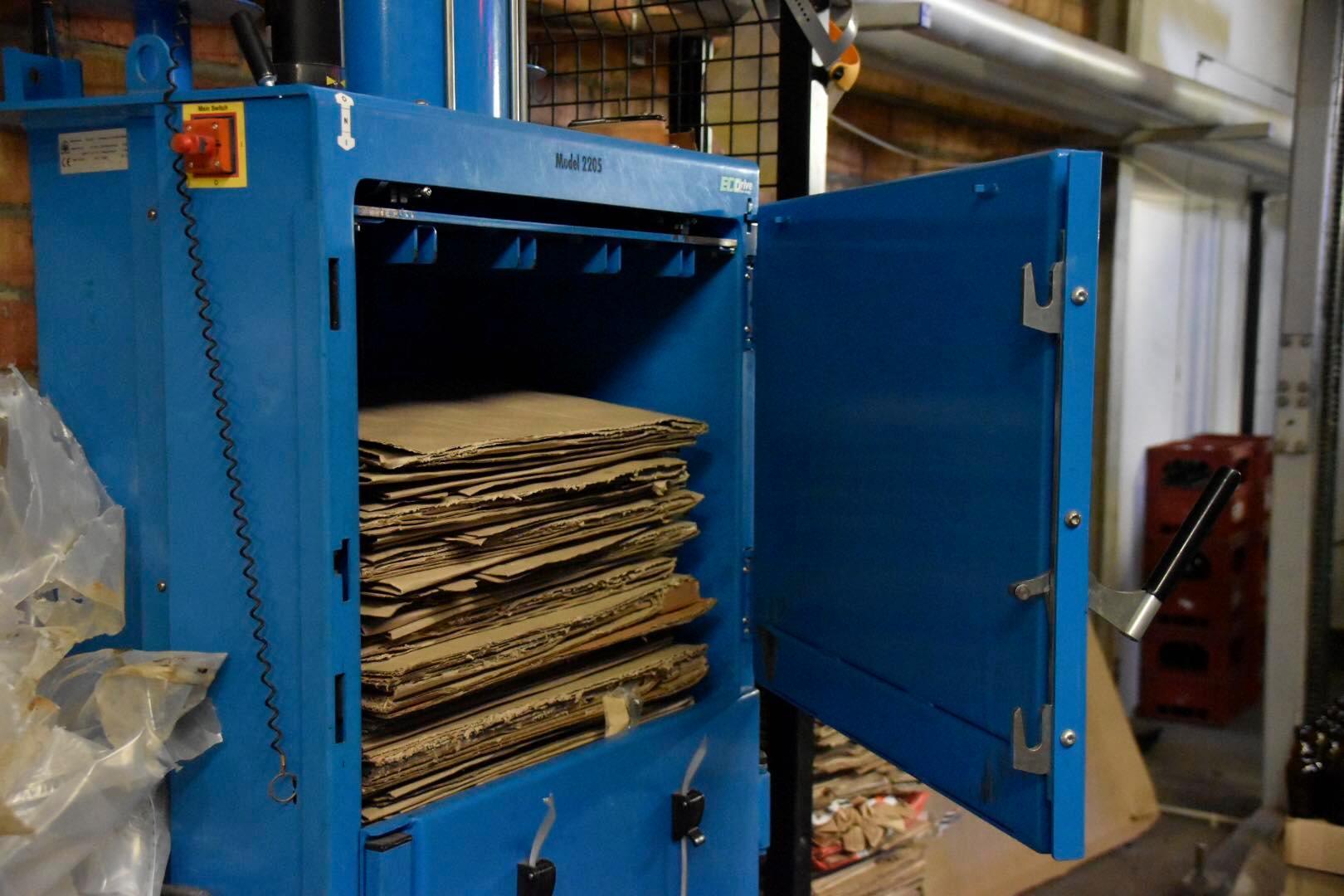 Cartons recyclés chez Page 24